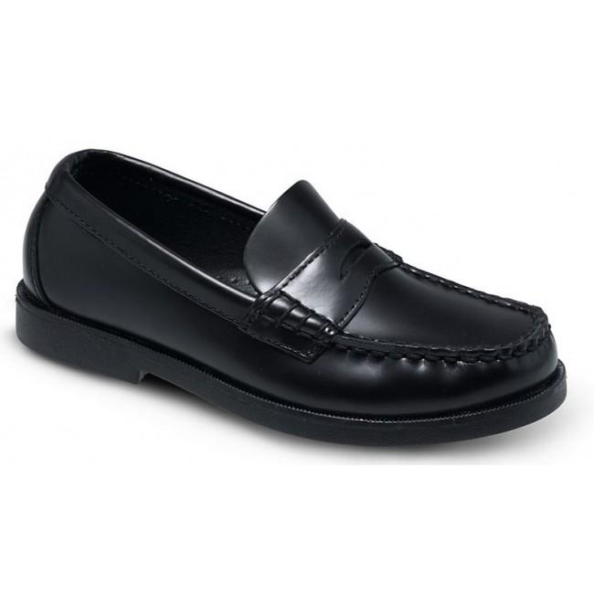 Sperry Kid's Colton Boat Shoe Black